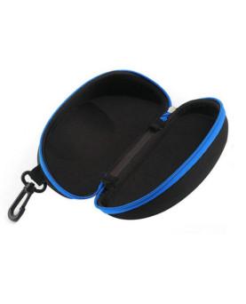 """Brillenetui mit Reissverschluss und Cliphalter, Supra """"Blue"""""""