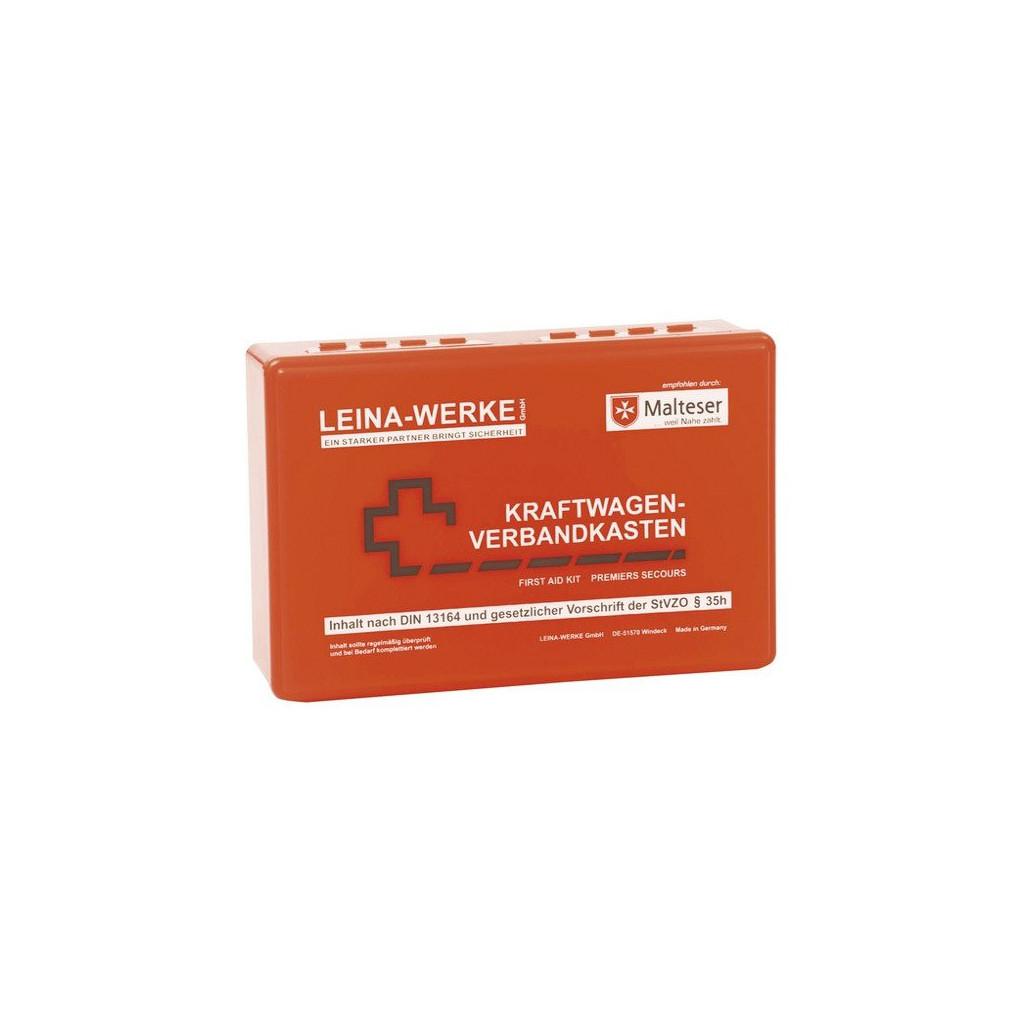 "KFZ-Verbandskasten, ""LEINA 10005"", rot"