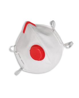 Einwegmaske faltbar mit Ausatemventil, FFP3 NR D, MSA AFFINITY 2131, Box à 15 Stück