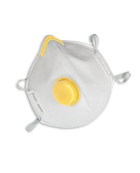 Einwegmaske faltbar mit Ausatemventil, FFP2 NR D, MSA AFFINITY 2121, Box à 15 Stück