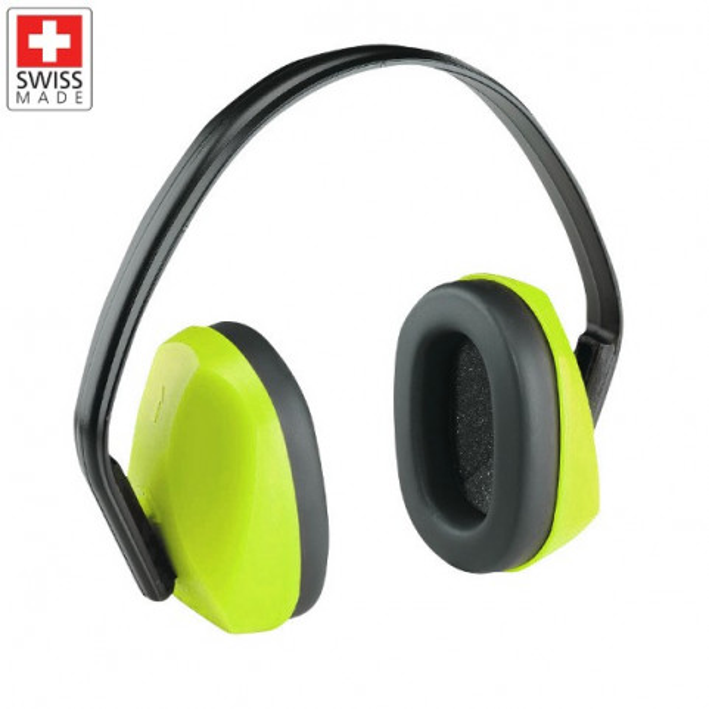 Kapselgehörschutz Hi-Viz neongelb, Supra 4301