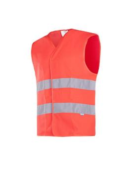 Warnschutz-Weste neonrot