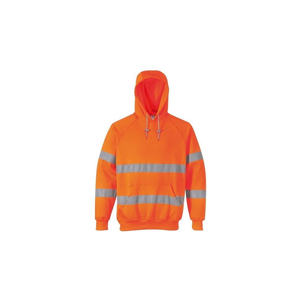Warnschutz-Kapuzen-Sweatshirt, Portwest B304