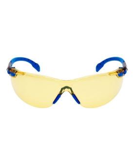 """Schutzbrille gelb getönt, mit Scotchgard-Beschichtung, """"Solus 1000"""" blau/schwarz, 3M S1103"""
