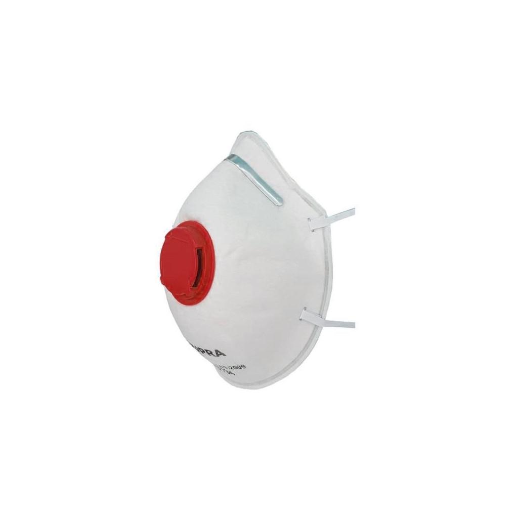 Feinstaubmasken faltbar mit Aktivkohlenfilter FFP2 NR D, BLS 737, Box à 10 Stk