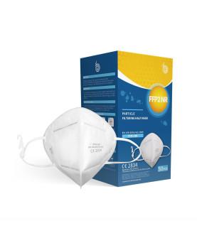 Feinstaubmasken ohne Ventil FFP2 NR einzeln verpackt mit Maskenhalter EN 149:2001+A1:2009 CE 2834