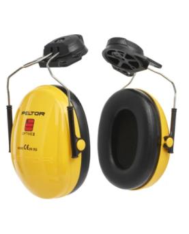 Helm-Kapselgehörschutz (ohne Helm) gelb 3M Peltor Optime I H510P3E