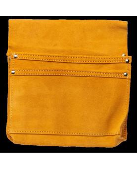 Nageltasche aus Rindsleder mit 2 Taschen CVX6001 Länge 230mm und Höhe 260mm