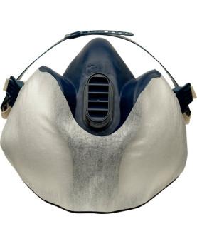 3M Schutzvlies 400+ Partikelvorfilter für Halbmasken, Paket à 10 Stück
