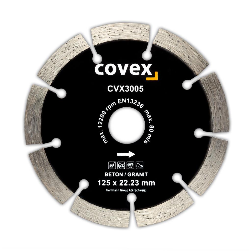 Diamant-Trennscheiben Beton/Granit CVX3005 Premium 125x22.23x10mm