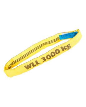 Rundschlingen mit Doppelmantel gelb 3000kg