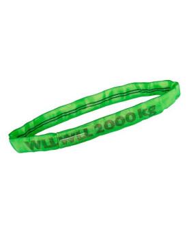 Rundschlingen mit Doppelmantel grün 2000kg