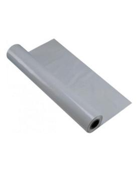 Maler- und Gipserfolie gerippt, aus PE-Regenerat grau, 1m/2m, 50m