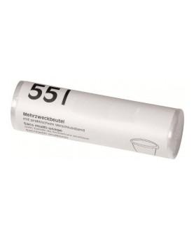 Mehrzweckbeutel transparent, mit Verschlussband, Karton à 30 Rollen