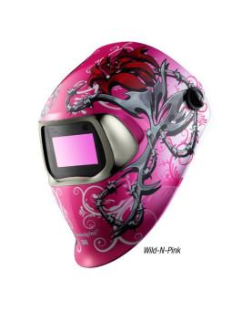 """Automatikschweissmaske, 3M Speedglas 100, """"Wild 'n' Pink"""""""