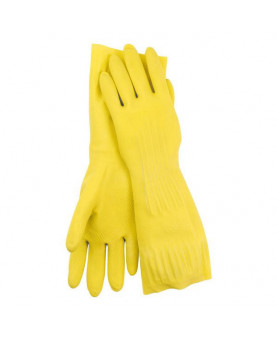 Latex-Haushaltshandschuh gelb, Nitras 3220