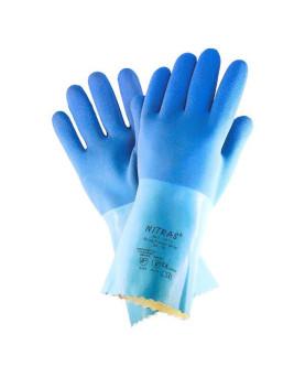 "Latexhandschuh blau, Nitras 1611 ""Blue Power Grip"""