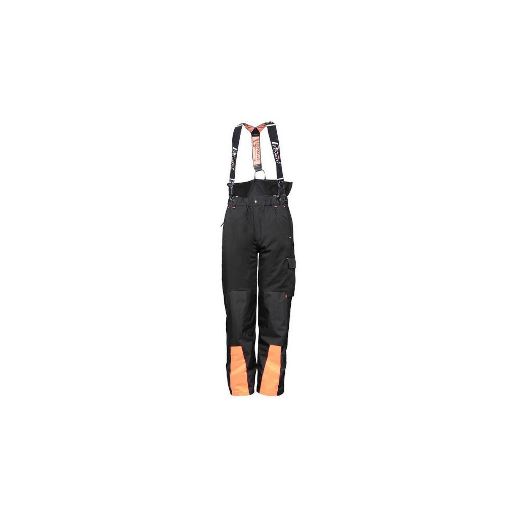 Comfort Stretch-Bundhose schwarz, mit Schnittschutz, Prevent