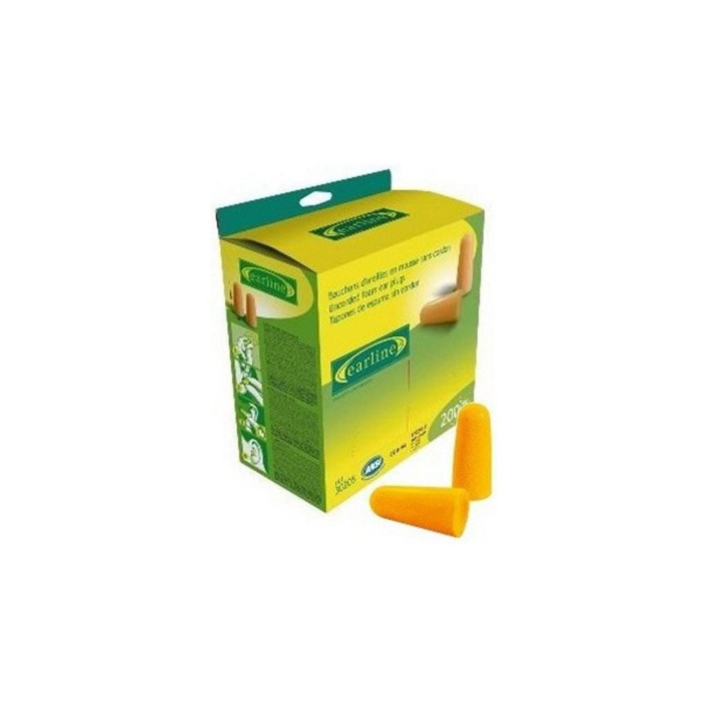 Gehörschutzstöpsel gelb, lose verpackt, 30215, Nachfüllpack à 500 Paar