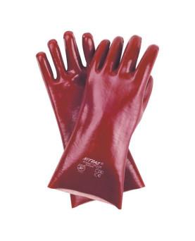 PVC-Handschuh rotbraun, Nitras 160235