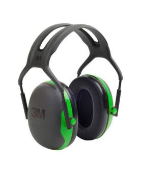 "Kapselgehörschutz mit Kopfbügel, 3M ""Peltor X1""Farben:  schwarz    grün"