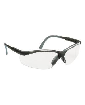 """Schutzbrille farblos mit doppelt verstellbaren Bügeln, 60530 """"Miralux"""""""