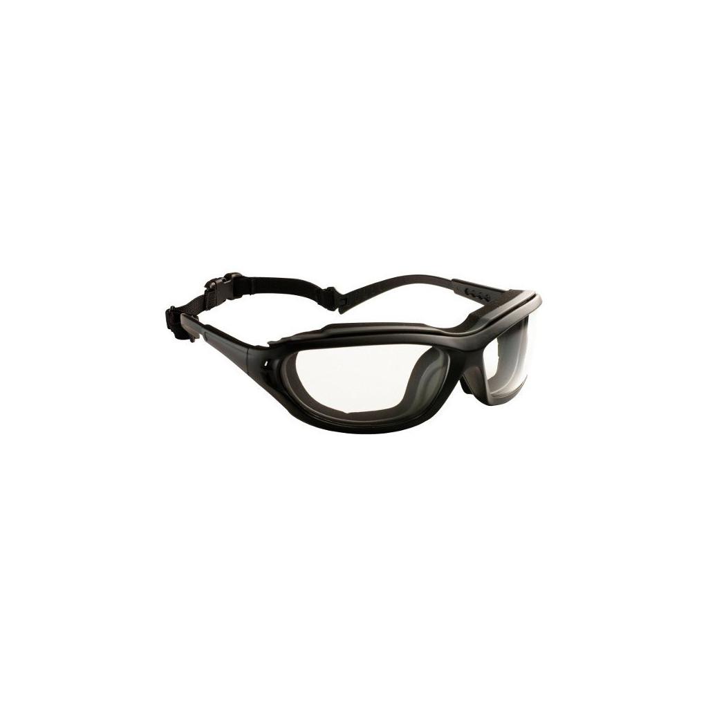 """Schutzbrille farblos mit Schaumstoffrand, 60970 """"Madlux"""""""