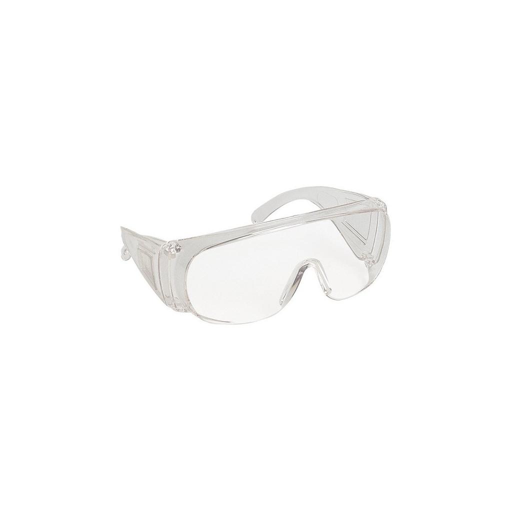 schutzbrille f r brillentr ger und besucher farblos 60401 visilux. Black Bedroom Furniture Sets. Home Design Ideas