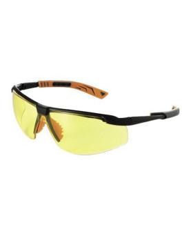 Schutzbrille gelb getönt, mit SoftPad Bügeln, Univet 5X8