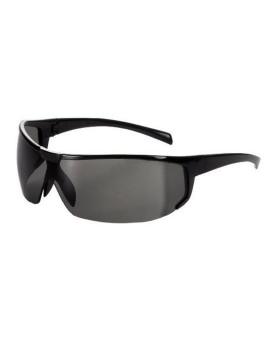 Schutzbrille getönt, mit schwarzem Rahmen, im italienischen Stil, Univet 5X4