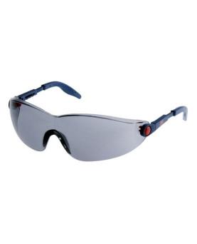 Schutzbrille, komplett einstellbar, grau getönt, 3M 2741