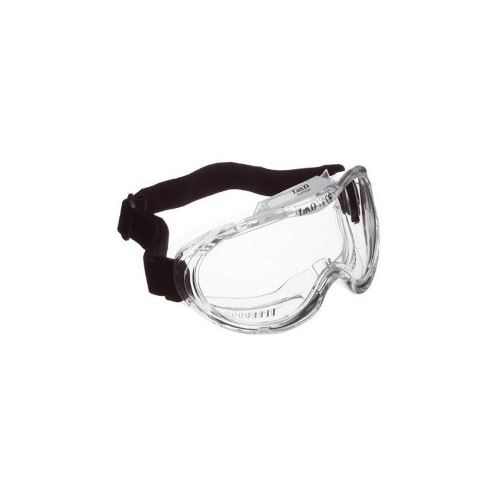 """Vollsichtbrille farblos aus PVC mit Elastikband, 60601 """"Kemilux"""""""