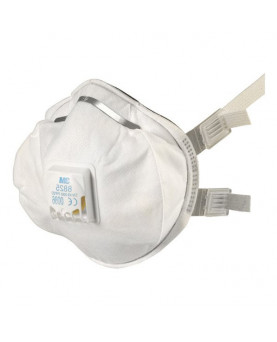 Atemschutzmaske FFP2 mit Ausatemventil, 3M 8825, Pack à 5 Stück