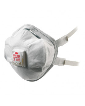 Atemschutzmaske FFP3 mit Ausatemventil, 3M 8835, Pack à 5 Stück
