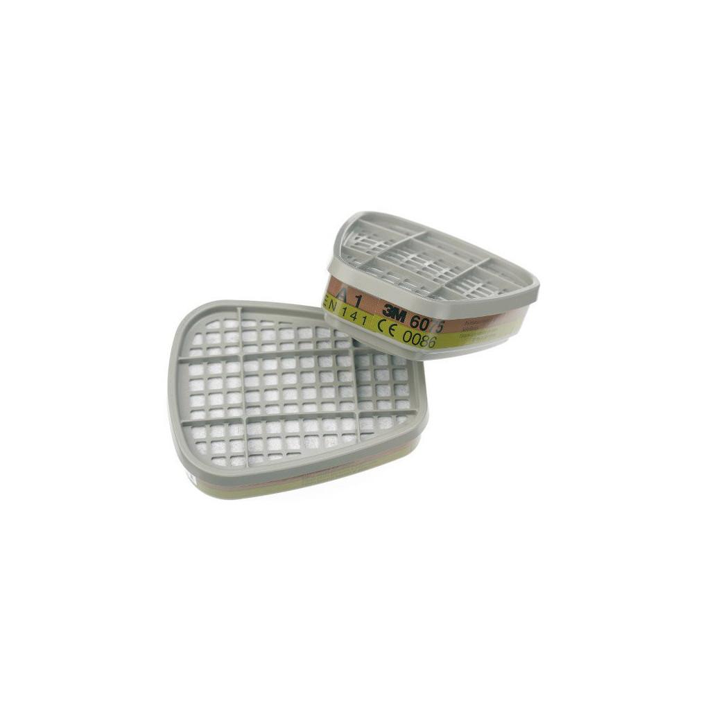 Filter mit Bajonettverschluss A1 + Formaldehyd, 3M 6075, Box à 8 Stück