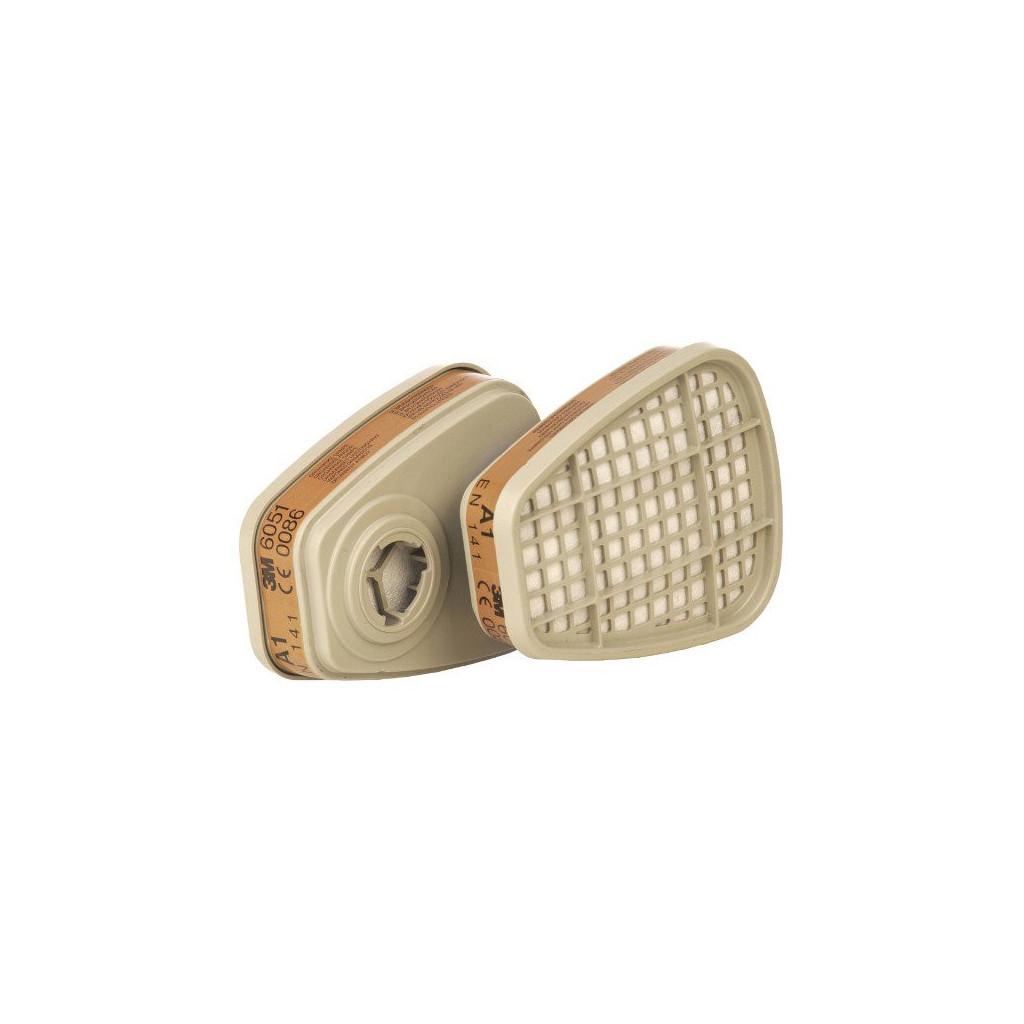 Filter mit Bajonettverschluss A1, 3M 6051, Box à 8 Stück