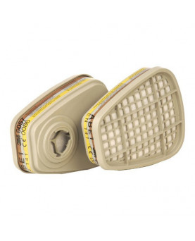 Filter mit Bajonettverschluss ABE1, 3M 6057, Box à 8 Stück