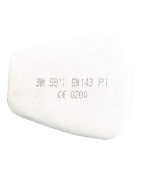 Partikel-Einlegefilter P1R, 3M 5911, Box à 30 Stück