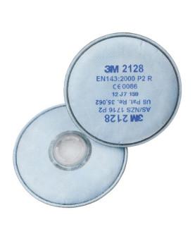Partikelfilter mit Bajonettverschluss P2R, 3M 2128, Box à 20 Stück