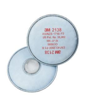 Partikelfilter mit Bajonettverschluss P3R, 3M 2138, Box à 20 Stück