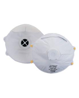 "Feinstaubmasken mit Ventil FFP1, Nitras 4110 ""Safe Air"", Pack à 10 Stück"