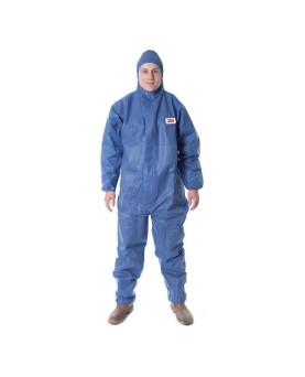 Einweg-Schutzanzug mit Kapuze blau, 3M 4515