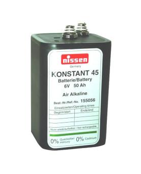 "Trocken-Blockbatterie 6V 7-9Ah, Nissen ""Premium 800"""