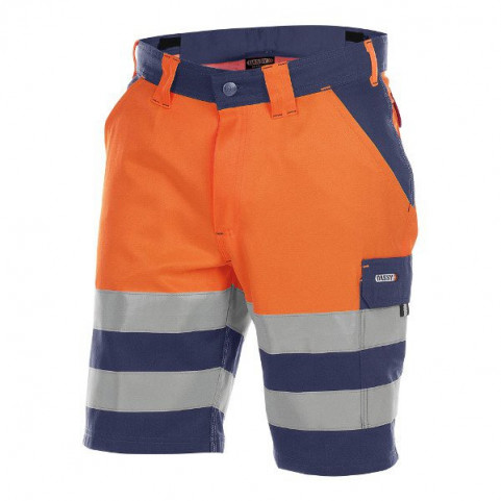 "Warnschutz Shorts ""Venna"", Dassy, neongelb/grau, Gr. DE64/CH62"