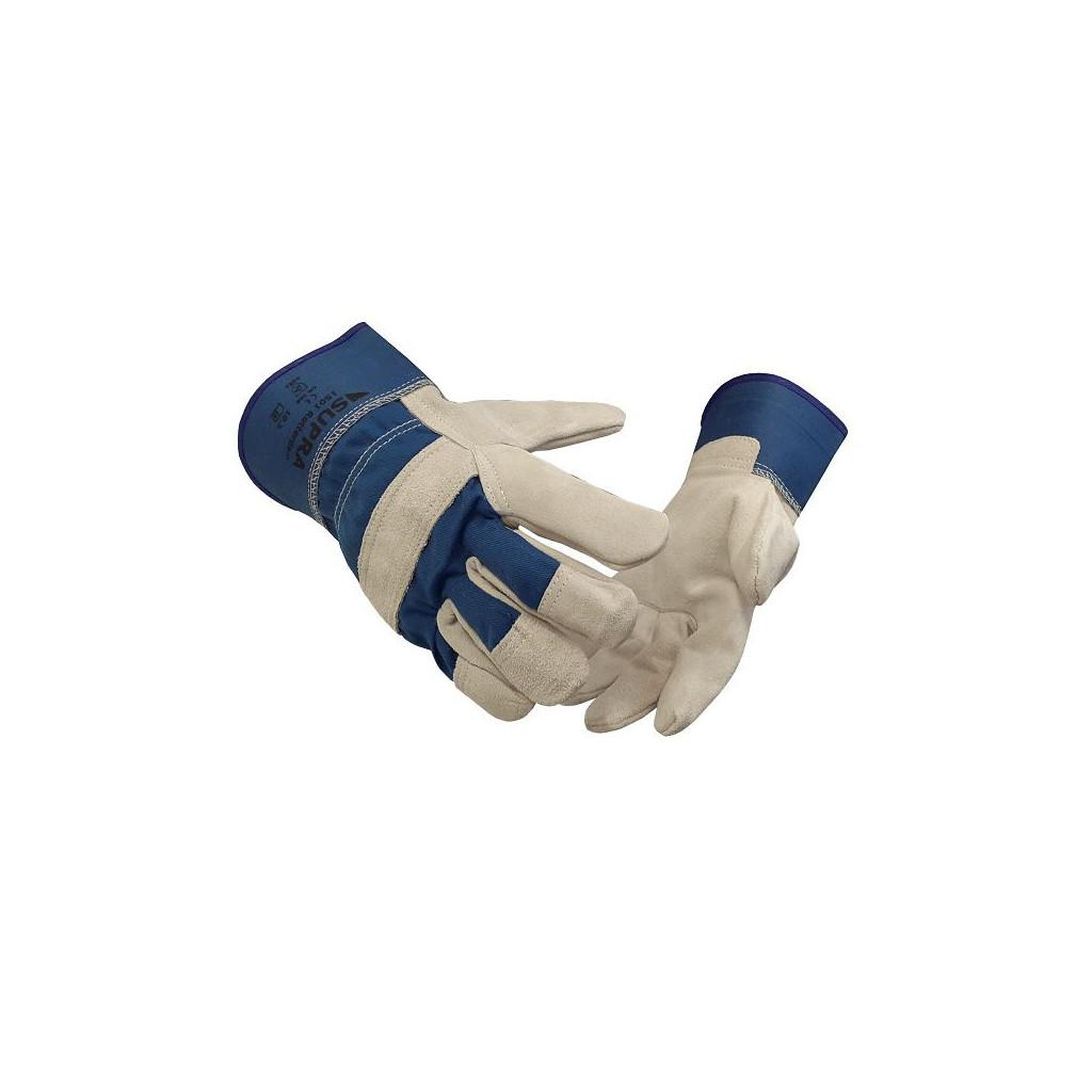 """Rindspaltleder-Handschuh, Supra 1501 """"Rotterdam"""", Gr. 10.5/L-XL"""