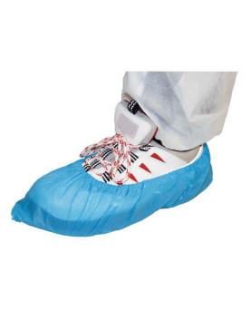 Einweg-Überschuhe blau, Pack à 100 Stück