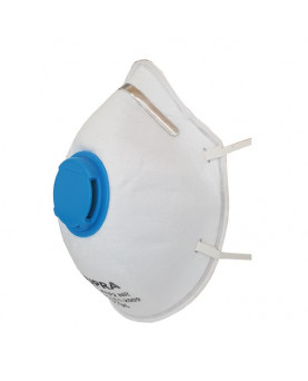 Feinstaubmasken mit Ventil FFP2, Supra 2201, Pack à 10 Stück