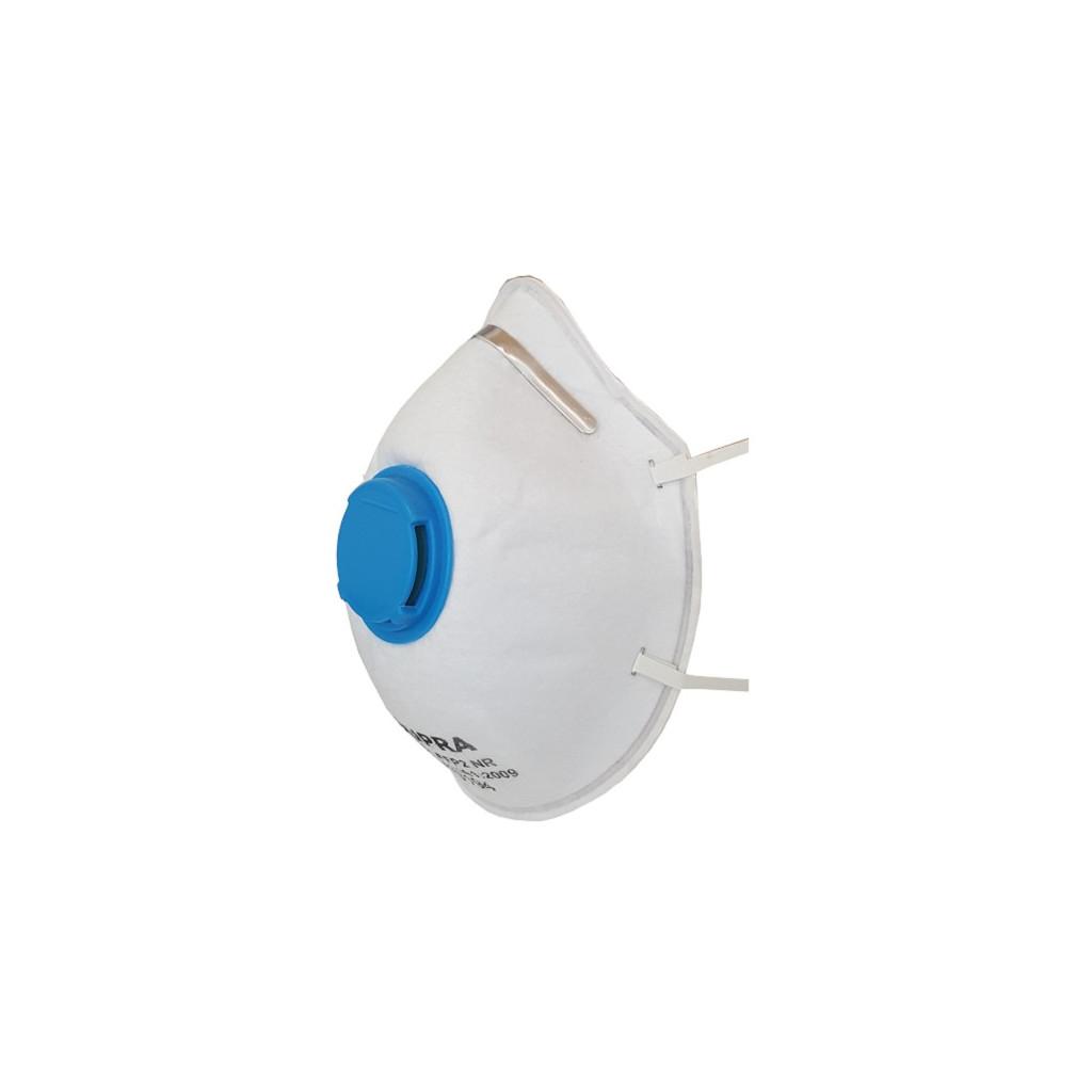 Feinstaubmasken mit Ventil FFP2, Supra 2201, Box à 10 Stück
