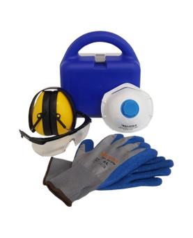 """PSA-Set in handlichem Kunststoff-Koffer, Supra """"SafetyBox"""""""